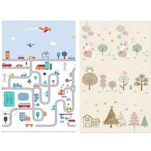 0.5cm thick Play Mat Baby Crawling Blanket Soft Floor Carpet Folding Kids Rug Playmat Waterproof Non Toxic for Toddler Infant-home textile-betahavit-China-road-betahavit