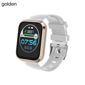 1.3 Inch Smart Watch Blood Pressure Fitness Bracelet Bluetooth Step Counter Health Tracker Sports Smartwatch For Android IOS-outdoor-betahavit-White-betahavit