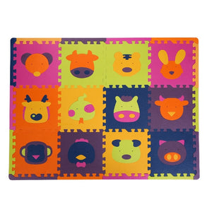 1.3cm Thick Baby EVA Foam Play Puzzle Mat Animals Crawling Kids Carpet Rugs Interlocking Soft Floor Protective Tiles Jigsaw Pad-home textile-betahavit-L1-12 pieces-betahavit