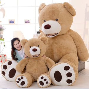 1 PC 100cm The Giant Teddy Bear Plush Toy Stuffed Animal High Quality kids Toys Birthday Gift Valentine's Day Gifts for women-toys-betahavit-betahavit