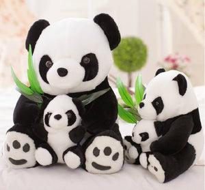 "1 Piece 9"" 23cm Stuffed Animal Plush Panda Parent Child Toy Kawaii Doll For Kid Brinquedos Christmas Gifts-toys-betahavit-betahavit"