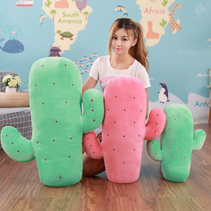 1 pc Creative Plush Cactus Pillow Stuffed Cute Toy Doll Kids Baby Gift Sofa Pillow Cushion Simulation Lovely Home Decoration-toys-betahavit-betahavit