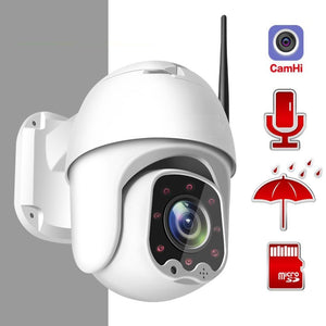 1080P Wireless MINI PTZ IP WIFI Camera Speed Dome 2MP CCTV Security IP Camera ONVIF Outdoor IR 30M Two Way Audio P2P APP CamHi-home-betahavit-1080P 64GB 2A Power-China-3.6mm-betahavit