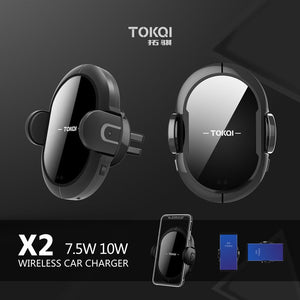 10W Quick QI Wireless Car Charger Mount Gravity Clamping Fast Charging Holder For iPhone 11 Pro Max 8 X XR XS Samsung S20 S10 S9-electronic-betahavit-betahavit