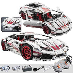 1696PCS City remote control Racing Model Building Blocks Technic RC/non-RC Racing Car Electric Bricks Toys For kid-toys-betahavit-betahavit