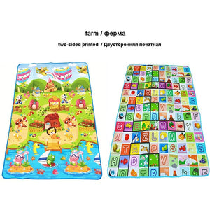 180*120*0.5cm Baby Crawling Play Mat Children Puzzle Toy Carpet Kid Game Activity Gym Developing Rug Eva Foam Soft Floor Gift-home textile-betahavit-China-Farm-180CM*120CM-betahavit