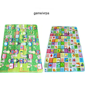 180*120*0.5cm Baby Play Mat Children Puzzle Toy Crawling Carpet Kids Rug Game Activity Gym Developing Rug Eva Foam Soft Floor-home textile-betahavit-China-Games-180CM*120CM-betahavit