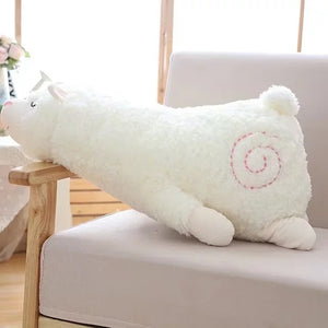 1pc Japanese Alpacasso Plush Toys Stuffed Lying Alpaca Toys Dolls Soft Animal Toys Kawaii Gift for Kids Cute Pillow Gift Toy-toys-betahavit-30cm-White-betahavit