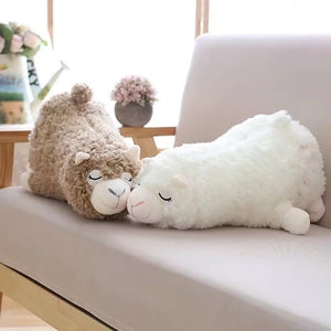 1pc Japanese Alpacasso Plush Toys Stuffed Lying Alpaca Toys Dolls Soft Animal Toys Kawaii Gift for Kids Cute Pillow Gift Toy-toys-betahavit-betahavit