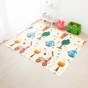 200*180cm Foldable Cartoon Baby Play Mat Xpe Puzzle Children's Mat Baby Climbing Pad Kids Rug Baby Games Mats Toys For Children-home textile-betahavit-betahavit