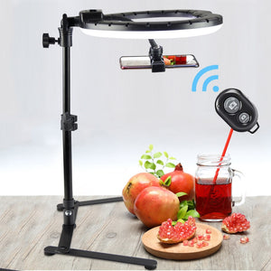 26CM Photography Lighting Phone Ringlight Tripod Stand Photo Led Selfie Bluetooth Fill Ring Light Lamp Video Youtube Live COOK-electronic-betahavit-betahavit