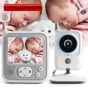 3.2 Inch LCD Video Baby Monitors Wireless Babysitter Two Way Audio Night light Temperature Pet Baby Camera Nanny Music VB607-home-betahavit-China-Baby Monitor VB607-betahavit