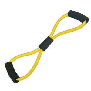 8 Word Type Resistance Band Chest Fitness Yoga Pull Rope Tube Rubber Muscle Training Stretch Crossfit Equipment Elastic Band-outdoor-betahavit-yellow-betahavit