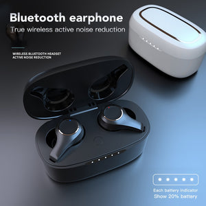 ANC TWS V5.0 Bluetooth Earphone Wireless Waterproof Dual Mic Active Noise Cancelling Touch Adjust Volume Earbuds Headset Type-c-electronic-betahavit-betahavit