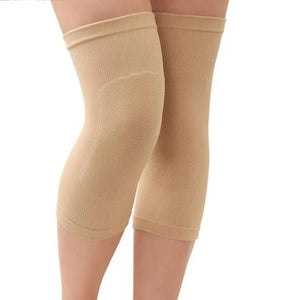 1 Pair Nylon Cycling Knee Pads Elastic Sport Knee Brace Support Compression Sleeves For Fitness Home Warmth-outdoor-betahavit-Skin color-XL-betahavit