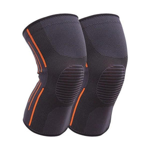 1 Pair Sports Safety Football Kneepad Basketball Knee Pads Sport Accessorie Elastic Knee Protector Knee Support-outdoor-betahavit-Grey-S-betahavit