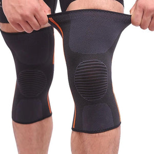 1 Pair Sports Safety Football Kneepad Basketball Knee Pads Sport Accessorie Elastic Knee Protector Knee Support-outdoor-betahavit-betahavit