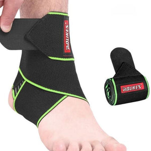 1PCS Elastic Silicone Ankle Support Brace Strap Basketball Football Professional-outdoor-betahavit-Green-betahavit