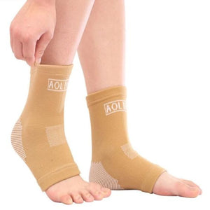Compression Elastic Ankle Support Basketball Sports Ankle Protector Breathable-outdoor-betahavit-Skin color-betahavit
