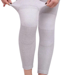 1Pair Long Kneepad Calf Leg Knee Pad Warm Support High Elasticity Relieve Arthritis Sports Outdoor Knee Guard Protect-outdoor-betahavit-betahavit
