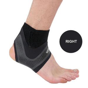 Fitness Ankle Brace Ankle Strap Gym ankle Protection Running Sport Support Guard Foot Bandage Elastic Black univers-outdoor-betahavit-Right-L-betahavit