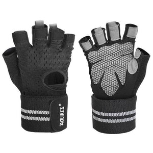 Professional Gym Gloves Exercise Gloves Women Men Hands Protecting Breathable Sports Gloves Fitness Weight-lifting-outdoor-betahavit-Black 2-XL-betahavit