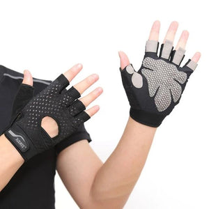 Professional Gym GlovesExercise Gloves Men Hands Protecting Breathable Sports Gloves Sport Fitness Weight-lifting Gloves-outdoor-betahavit-Black 1-S-betahavit