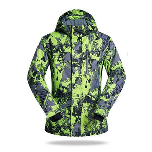 Brand New Winter Ski Jackets Suit Men Outdoor Thermal Waterproof Snowboard Jackets Climbing Snow Skiing Clothes-outdoor-betahavit-Green-M-China-betahavit