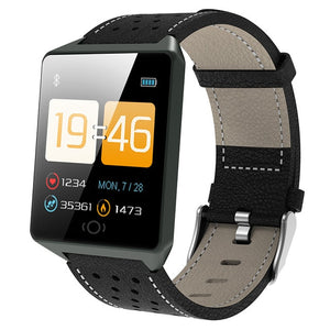 Android/IOS Waterproof Wearable Device Bluetooth SmartWatch Pedometer Heart Rate Monitor Color Display-outdoor-betahavit-CK19-black-betahavit
