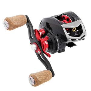 CLOSE OUT ELF II Dual Brake Systems 169g Ultra-light Carbon Fiber Baitcasting Fishing Reel 6.4:1/7.2:1 Fishing Wheel-outdoor-betahavit-betahavit