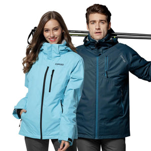 Snowboard Ski Suit Winter Mountain Waterproof Men Women Ski Jacket Windproof Female and Male Ski Set S-XXL Size-outdoor-betahavit-betahavit