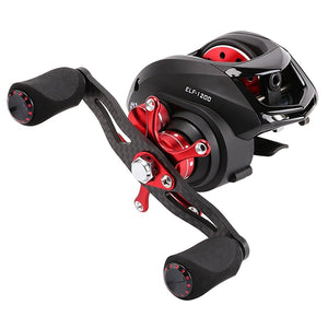 Close Out ELF 169g Carbon Fiber BaitCasting Reel 6.4:1 Fishing Reel Dual Brake Systems 4KG Drag Power Aluminum Spool-outdoor-betahavit-reel-14-Right Hand-betahavit