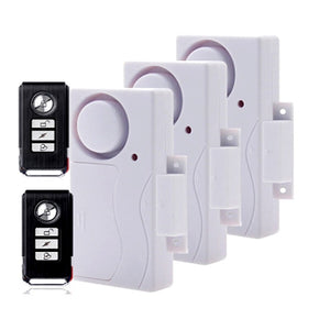 Door Window Entry Security ABS Wireless Remote Control Door Sensor Alarm Host Burglar Security Alarm System Home Protection Kit-home-betahavit-E-betahavit