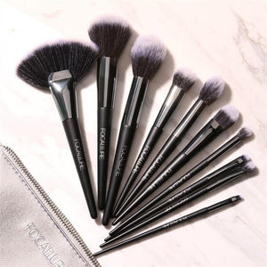 10Pcs/Set Professional Makeup Brushes Kit with Eyeshadow Foundation Brush Make up Brush Tools-beauty-betahavit-10 pcs-CHINA-betahavit