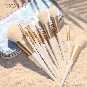 12PCS Makeup Brushes set Snow elf professional suitable for Eyeshadow foundation powder Luxury Makeup Brush Set Tools-beauty-betahavit-18172-betahavit