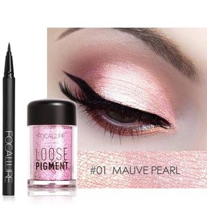 Makeup Set Eyeshadow powder with Eyeliner Glitter and shimmer Eye shadow shade for Eye make up cosmetic-beauty-betahavit-FA13 N FA37-1-CHINA-betahavit