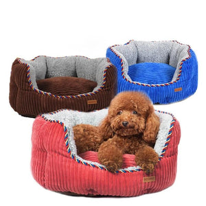 All Seasons Bolster Sofa Pet Dog Cat Bed With Removable Cover Cushion,Nonslip and Waterproof Bottom-home-betahavit-betahavit