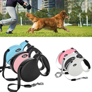Automatic Retractable Dog Leash For Cat Easy Gripping 3 M/5 M Pulling Dog Lead Leash for Small Medium Pet Dogs-home-betahavit-betahavit