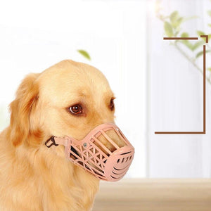 Baskerville Ultra Dog No Bite Muzzle Comfortable Soft Plastic Mesh Basket-home-betahavit-betahavit