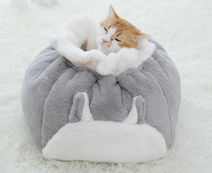 Cat Bed House Puppy Cushion Kennel Warm Pet Basket Supplies Warming Bag for Indoor Mat Beds for Cats & Kittens Products-home-betahavit-betahavit