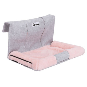 Cat Hammock Bed Warm Hanging Bed For Pet Cat House Soft And Comfortable Shelf Seat Beds-home-betahavit-Pink-S 47x32x26cm-betahavit