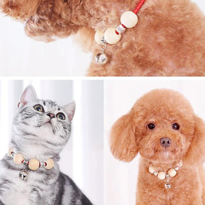 Cats Bells Collar De-flea Cat Dog Collar Camphorwood High Quality Pet Aessories-home-betahavit-betahavit