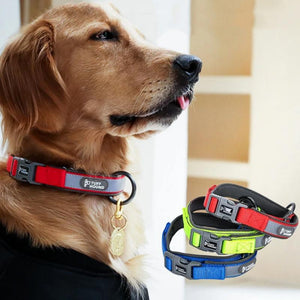 Dog Collar Pet Dog Tag Collar Puppy Cat Collars Adjustable For Medium Large Dogs-home-betahavit-betahavit
