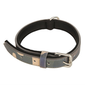 Dog Collars Leather Dog Adjustable Collar For Small Medium Large Dogs Pet Supplies-home-betahavit-Green-S-betahavit
