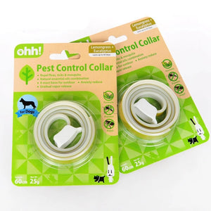 Dog Collars With Natural Essential Oils Insecticide Deodorant Pest Lemon Odor Applicable In Large Dogs Safe Non-Toxic-home-betahavit-Green-M-betahavit