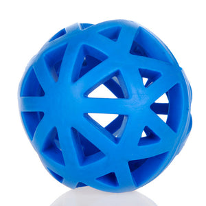 Eco-friendly Natural Rubber Dog Toys Leakage Ball Hollow Blue Pet Feed Interactive Training-home-betahavit-Blue-Free size-betahavit