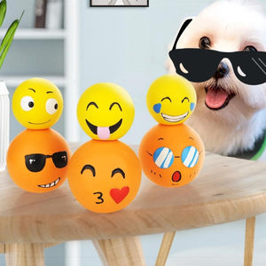 Funny Pets Dog Puppy Cat Ball Chew Sound Dogs Play Squeak Toys Pet Supplies-home-betahavit-betahavit