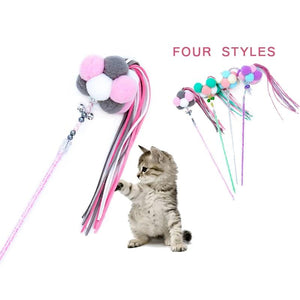 Pet Cat Toy Soft Colorful Kitten Funny Playing Interactive Christmas Toys for Cats Supplies 1pcs-home-betahavit-betahavit