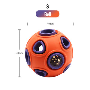 Pet Dog Rubber Pinball Balls And A Ball Packing Orange Rubber Resistance To Bite Molars Toys Pet Supplies-home-betahavit-as photo 200000195-size-betahavit