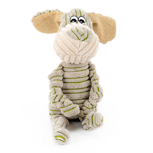 Pet Dogs Little Donkey and Pony Striped Toy Vocal Strong Resistance to Bite Puzzle Molar-home-betahavit-Green-L-betahavit